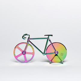 Pizza Cutter Bicycle Fixie Bike in iridescent