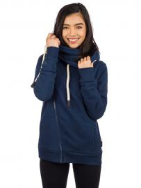 Kazane Marte Zip Hoodie dress blues
