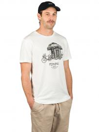 Picture Dad & Son Bike T-Shirt white