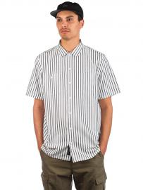 Vans Rowan Workwear Stripe Shirt dress blues