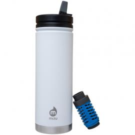 MIZU 360 - V7E Enduro White (Straw Lid & Everyday Filter Included)