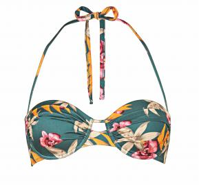 Watercult Hyper Vintage Bikini Set in Jungle Tropics