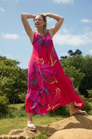Ralston Dany Maxi Dress Pink PINK - M (uk 14-16)