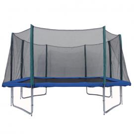 AirKing 9x14ft Rectangular Trampoline With Safety Enclosure