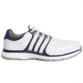 Adidas 2019 TOUR360 Xt-Sl (Wide) Shoes - White/Collegiate Navy/Gold