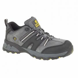 Amblers Steel FS188n SB Safety Trainer steel toe and midsole Sizes 6-12 Grey - 7