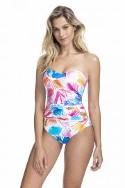 Gottex Profile Splash Bandeau Swimsuit in Multi 14