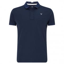 Callaway 2019 X Solid Chev Polo - Dress Blue