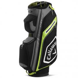 Callaway 2020 Cart Golf Bag CHEV 14+ BLK/FL YLLW