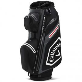 Callaway 2020 Cart Golf Bag Chev Dry 14 Blk/Chrcl