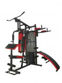 Strength Master 409B Home Multi Gym with Punch bag