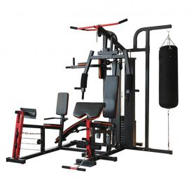 Strength Master 8306 Advanced 3 Station Home Multi Gym With Punch Bag