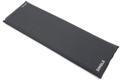 Silentnight Treknap 500 Single Self-Inflating Sleeping Mat, CHARCOAL/SINGL