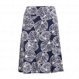 Weird Fish Women's Malmo Printed Skirt, Navy/NVY$