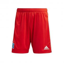 2020-2021 Hamburg Home Shorts (Red)