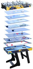 Air League 12 in 1 Folding Games Table