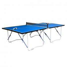 Walker & Simpson Flat Hit Full Size Folding Table Tennis Table – Blue