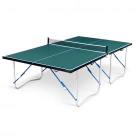 Air King Flat Hitter Official Size Folding Table Tennis Table – Green