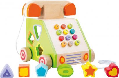 Small Foot Telephone Pull-along and Motor Skills Trainer