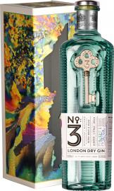 No3 - London Dry Gin Gift Pack 70cl Bottle
