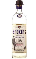 Brokers - Export Gin 47% 70cl Bottle