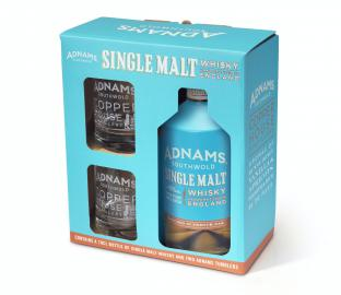 Adnams Single Malt Whisky and Tumbler Gift Set