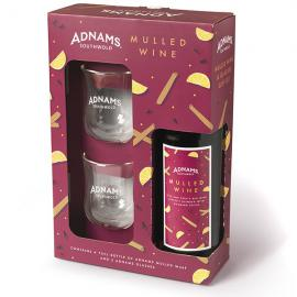 Adnams Mulled Wine & Thermo Glasses Gift Set