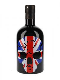 Ghost Vodka Union Flag Skull
